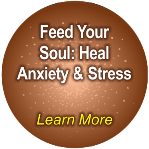 Feed Your Soul: Heal Anxiety and Stress by Ruth Stern